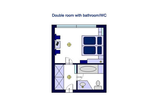Double room with bathroom/WC